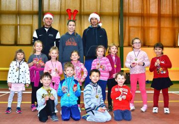 Vánoční turnaj dětí 2016
