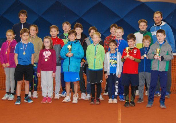 Klubový turnaj mladších žáků